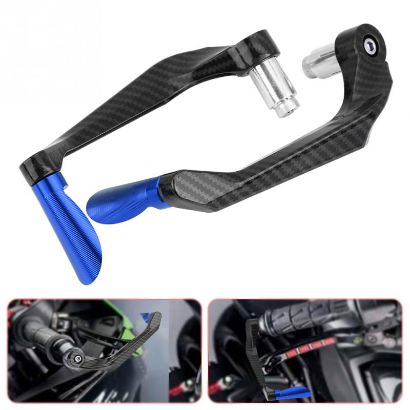 Carbon Fiber Aluminum Alloy Motorcycle Brake Clutch Levers Protection Universal - mbrbproducts