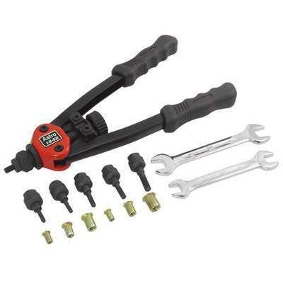 SAE Metric Thread Setting Nut Riveter Insert Rivet Riveting Tool Kit Set Setter - mbrbproducts