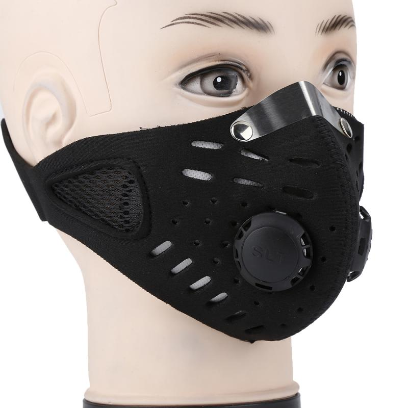 Face Mask Activated Charcoal Filter Protective Mask Soft Breathable Security Protection - mbrbproducts