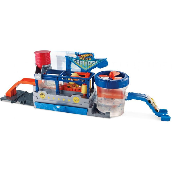 Hot Wheels Color Change Mega Car Wash and Cars and Conveyer Belt Track - mbrbproducts