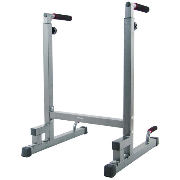 BalanceFrom Multi-Function Dip Stand Dip Station Dip bar with Improved Structure Design, 500-Pound Capacity - mbrbproducts