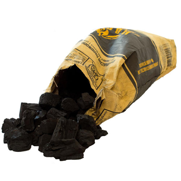 XL Restaurant Style Lump 100% Natural Charcoal Bag 33 lbs. - mbrbproducts