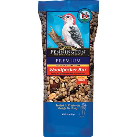 Pennington Woodpecker Bar Wild Bird Seed and Feed Cake, 11 oz - mbrbproducts