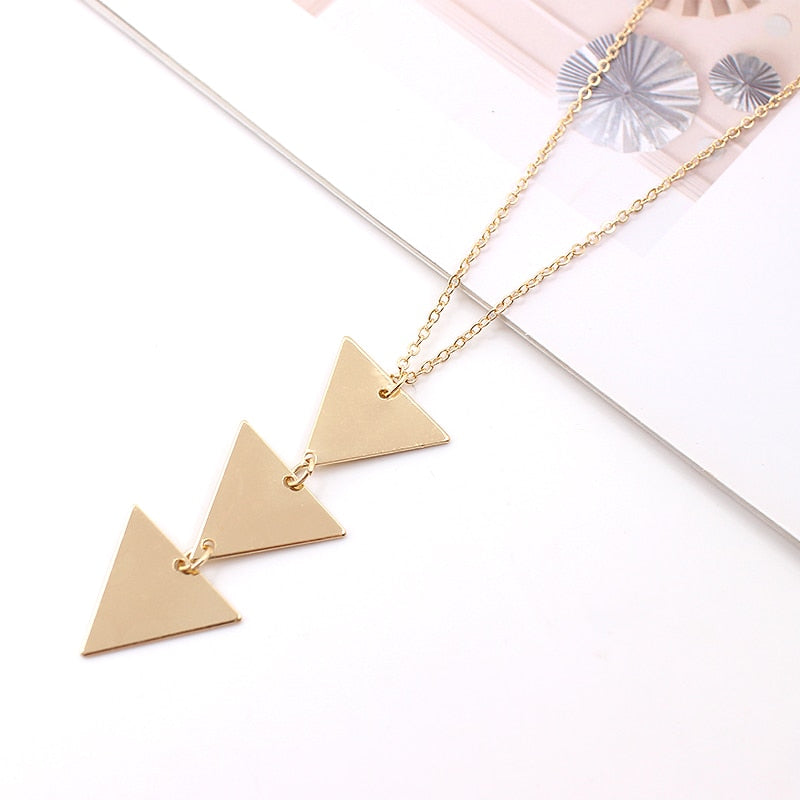 2020 NEW pendant Necklace geometric Long Chain Women choker Necklace Chocker collana Bijoux - mbrbproducts