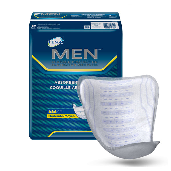 Tena Incontinence Guards for Men, Moderate, 144 Ct - mbrbproducts