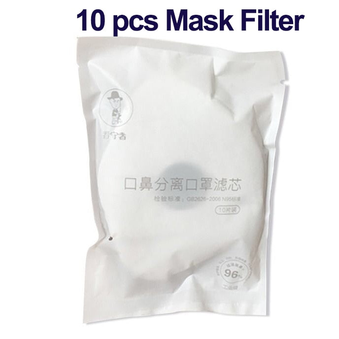 KN95 Mask PM2.5 Mouth Nose Disconnect-type Mask Anti-dust Masks Activated Carbon Filter Mouth Face Mask - mbrbproducts