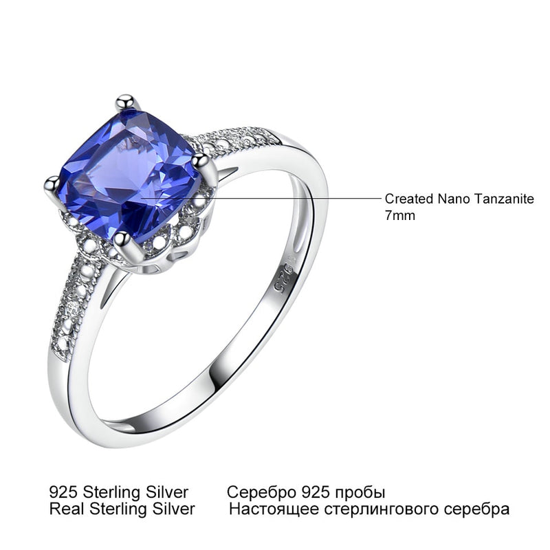Women 925 Sterling Silver Ring Birthstone Engagement Wedding Romantic Valentines Jewelry New - mbrbproducts