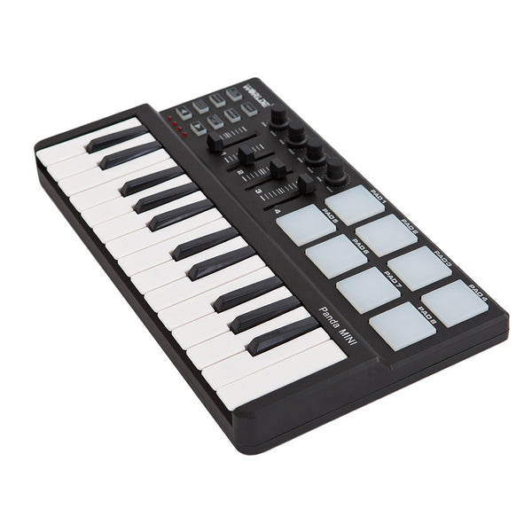 Worlde Panda mini Portable 25-Key USB Keyboard and Drum MIDI C - mbrbproducts