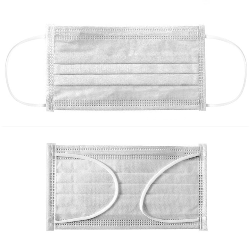 Mask 50/10pcs Disposable Prevent Flu Infection 3-layer Filter Mask Protection Antibacterial And Disposable masks. - mbrbproducts