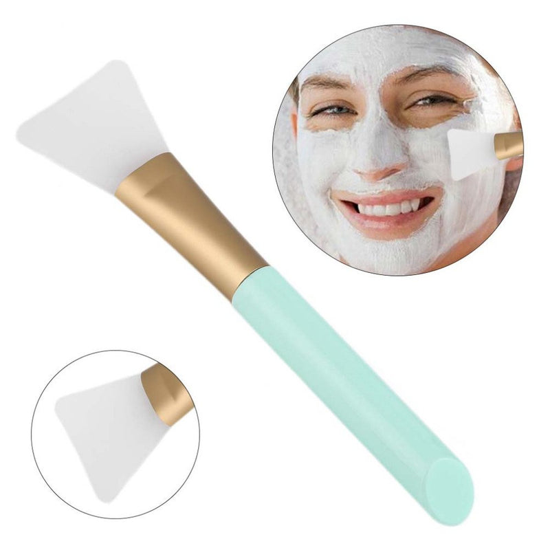 2 PCS Silicone Face Mask Brush,Mask Beauty Tool Soft Silicone Facial Mud Mask Applicator Brush Hairless Body Lotion And Body Butter Applicator Tools - mbrbproducts