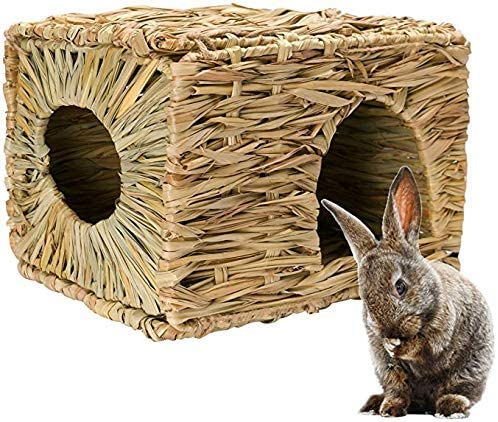 Natural Seagrass Mat Bed Hideaway Toy for Rabbit Guinea Pig Chinchilla Ferret 2020 - mbrbproducts