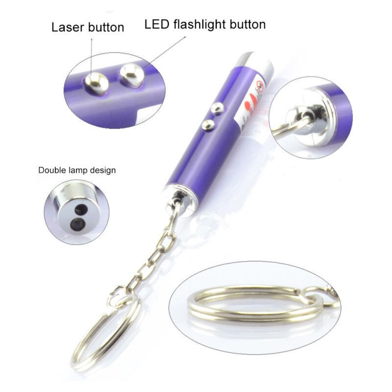 1 PCS Funny Pet LED Laser Pet Cat Toy 5MW Red Dot Laser Light Toy Laser Sight Pointer Laser 2020 - mbrbproducts