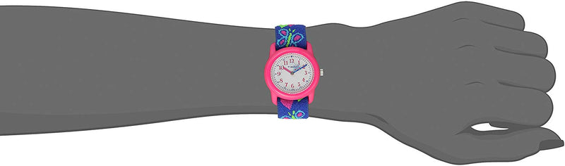 Time Machines Analog Elastic Fabric Strap Watch - mbrbproducts