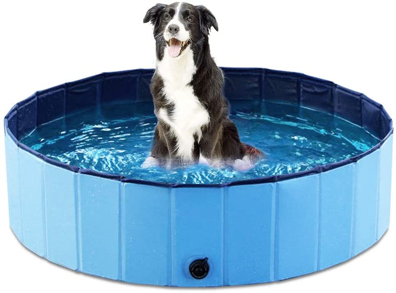 Jasonwell Foldable Dog Pet Bath Pool Collapsible Dog Pet Pool Bathing Tub Kiddie Pool for Dogs Cats and Kids - mbrbproducts