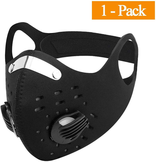 Mouth Mask Anti-Dust Cycling Mask Activated Carbon Filtration Mask PM 2.5 Face Mask - mbrbproducts
