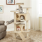 "Pet Play Palace 51.2"" Cat Tree Scratcher Condo Furniture Beige - mbrbproducts"