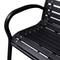 "Outdoor Patio Garden Bench Porch Chair Seat with Steel Frame Solid Construction 49"" x 24"" x 32"" - mbrbproducts"
