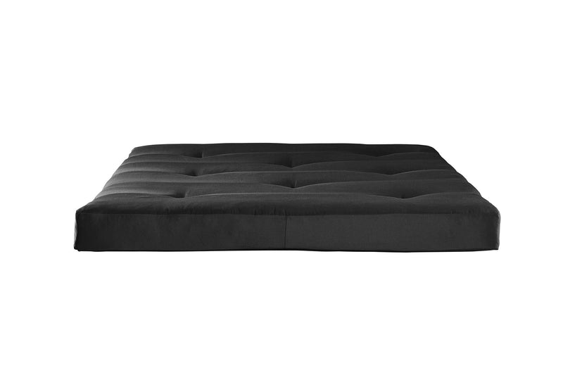"Mainstays 6"" Tufted Futon Mattress, Black - mbrbproducts"