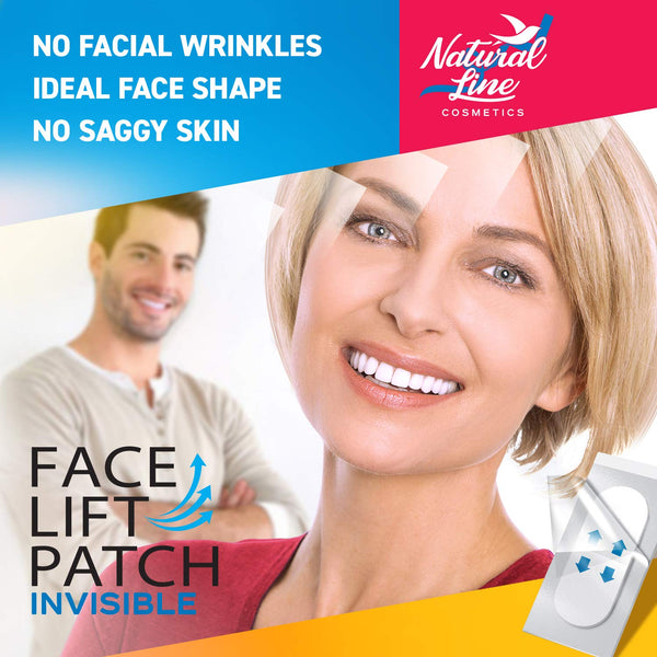Face Lift Tape Face Lifting Patch Neck Double Chin V Shape Saggy Eye Invisible Thin Adhesive Face Lift Stickers Bands Instant Wrinkle Jowl Tightening Thinning Clear Makeup Tape - mbrbproducts
