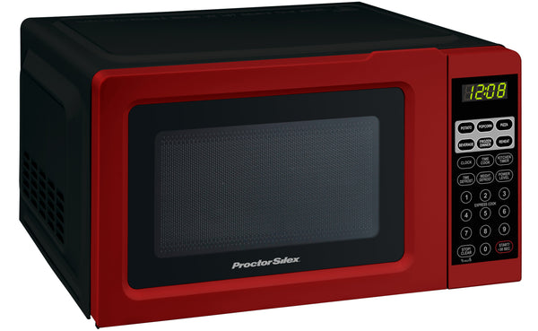 Proctor Silex 0.7 Cu.ft Black Digital Microwave Oven - mbrbproducts