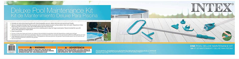 Intex  Deluxe Maintenance Kit for Above Ground Pools, 1, Blue - mbrbproducts