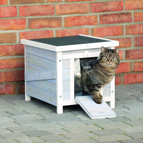 Trixie Pet Products 2-Story Cat Cottage - mbrbproducts