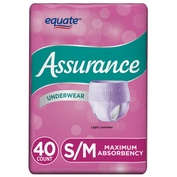 Incontinence Underwear for Women, Maximum, Small/Medium, 60 Ct - mbrbproducts