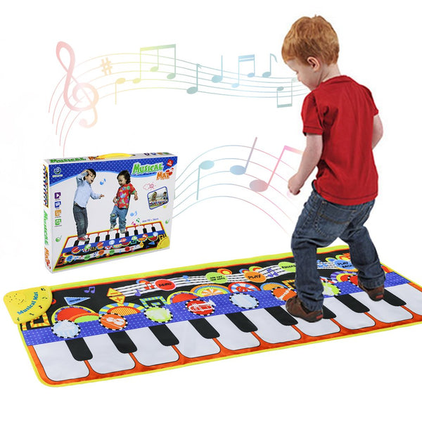 Musical Piano 19 Keys Piano Keyboard Play Musical Speaker Recording Function Boys - mbrbproducts