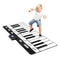71in Giant Duty 24-Key Piano Keyboard Music Playmat Settings Black - mbrbproducts