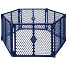 Toddleroo by North States Superyard Classic 6-Panel Play Yard, Portable Indoor-Outdoor - mbrbproducts