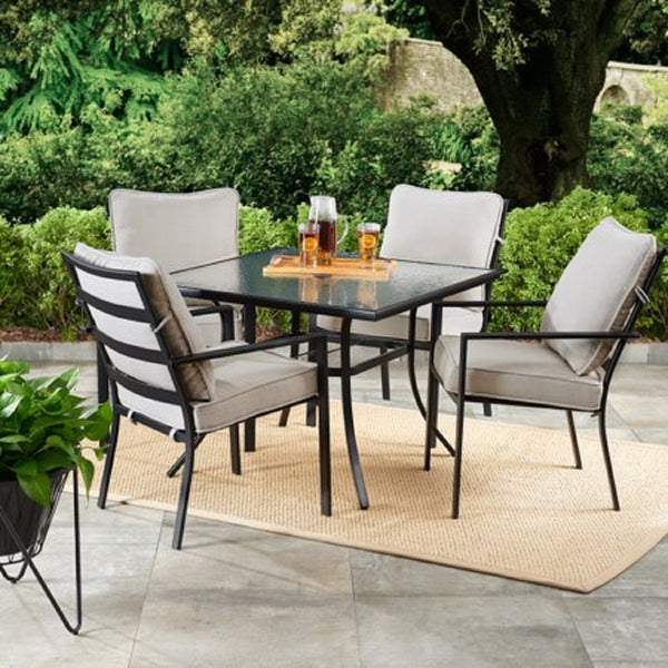 Richmond Hills 5-Piece Outdoor Patio Dining Set with Cushions - mbrbproducts