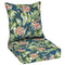 "Better Homes & Gardens Teal Breezy Tropical 48""L x 24""W Outdoor Patio Deep Seating Cushion Set - mbrbproducts"