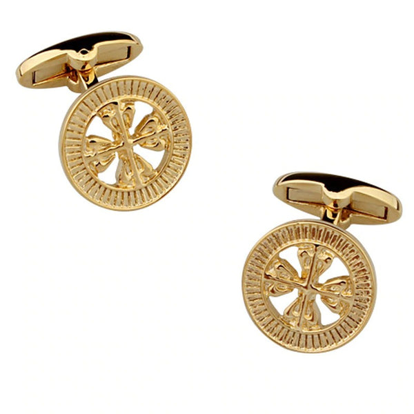 Men's Cufflinks Business Banquet Wedding Celebration Groom Shirt Accessories Gifts High-end Gold 2020 - mbrbproducts