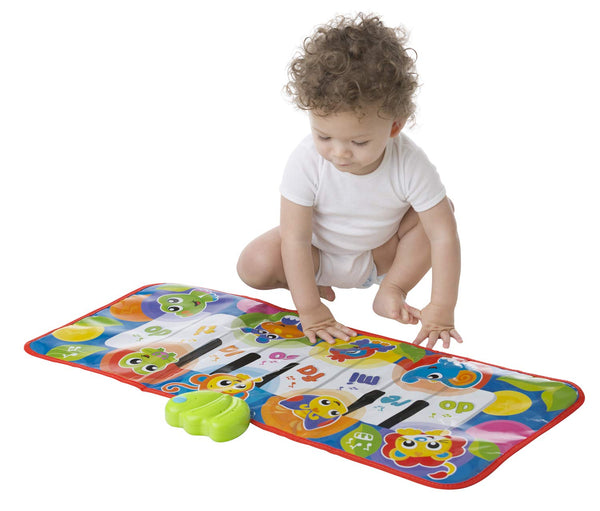 Baby Toy Jumbo Jungle Musical Piano Mat 0186995 for Baby Infant Toddler Children is Encouraging Imagination with STEM/STEAM for a Bright Future - Great Start for A World of Learning - mbrbpro
