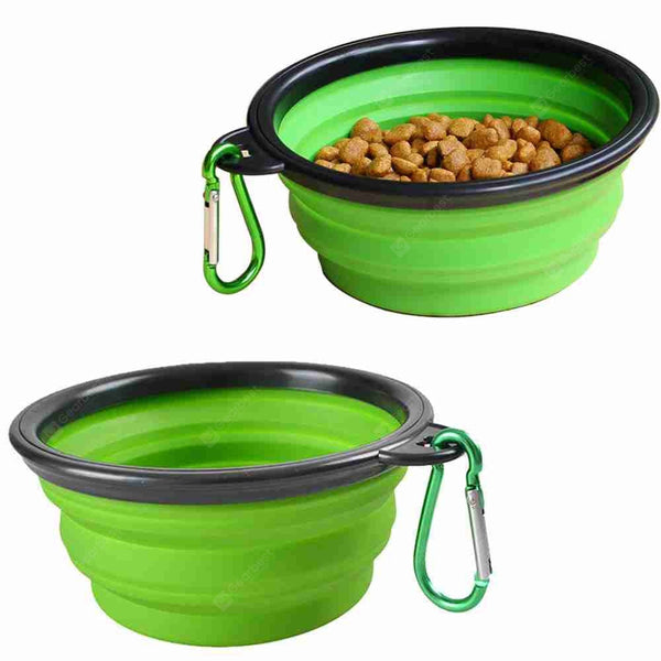 Collapsible Dog Bowl Pet Water Feeding Portable Travel Bowl - mbrbproducts