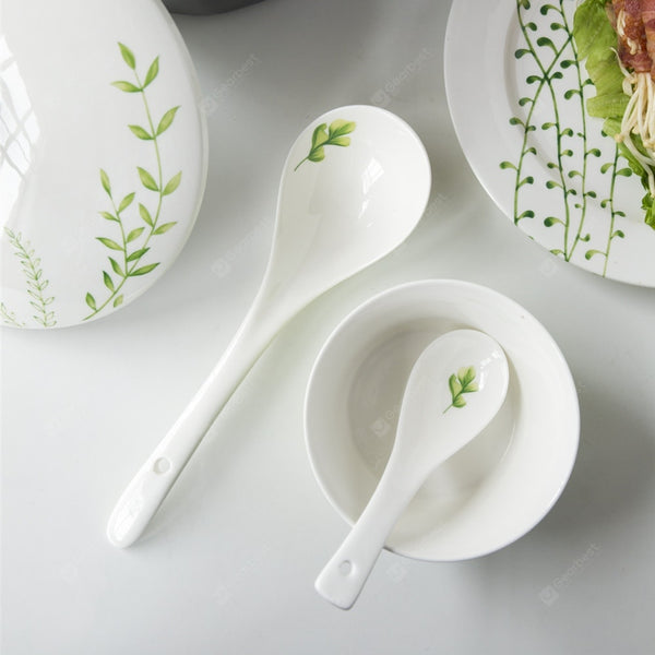 Modern Style Ceramic Spoon Tabelware - Multi-A Small - mbrbproducts