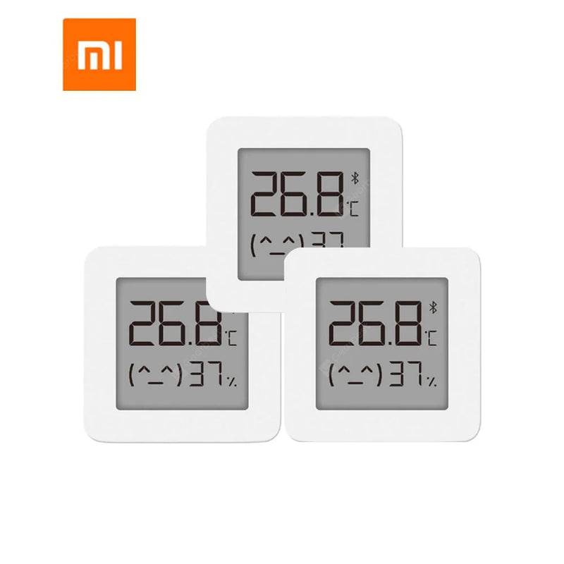 XIAOMI Mijia Bluetooth Thermometer 2 Wireless Smart Electric Digital Hygrometer Thermometer - China 1pcs - mbrbproducts