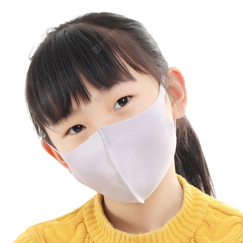 Mask Mouth Face Respirator Mask For Children Kids Boys Girls 2 pcs blue - mbrbproducts