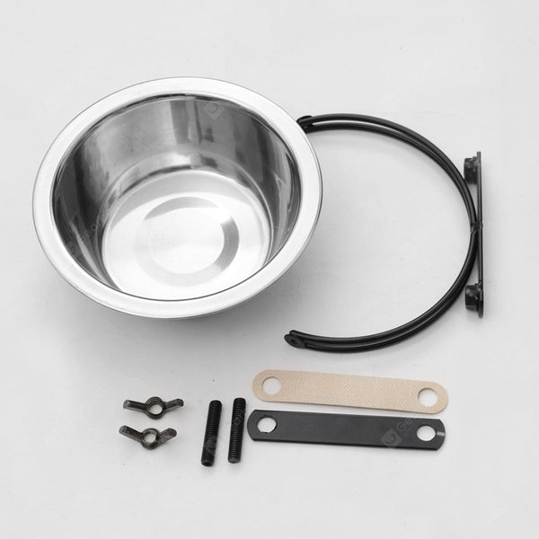Hanging Stainless Steel Pet Bowl - 21CM - mbrbproducts