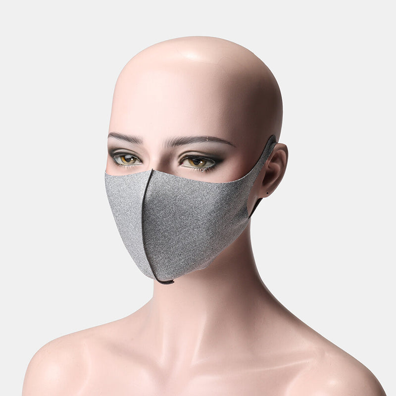 NEW Style Unisex Breathable Solid Color Face Mask - Gray 2020 - mbrbproducts