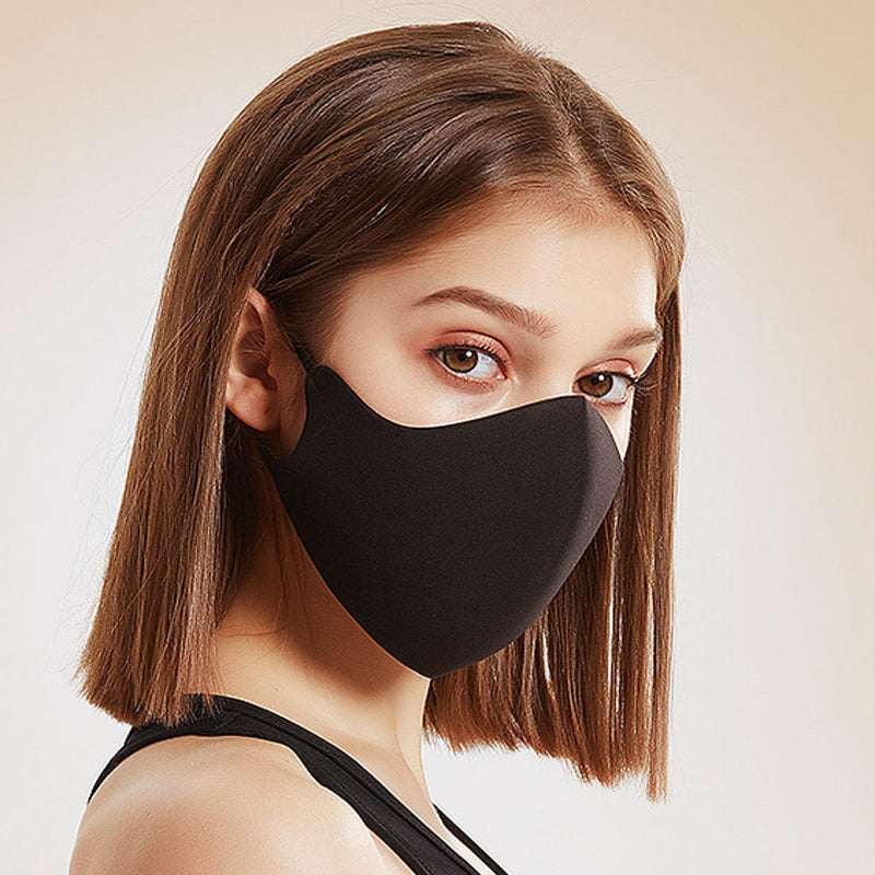 Face Mask Windproof Dustproof Breathable Anti-fog Universal - Black - mbrbproducts