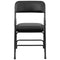 Flash Furniture HERCULES Series Curved Triple Braced and Double Hinged Vinyl Upholstered Metal Folding Chair, Multiple Colors - mbrbproducts