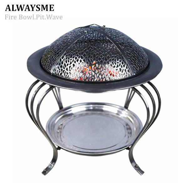 ALWAYSME FirePit FireWave FireOven Include Outdoor Or Indoor - mbrbproducts