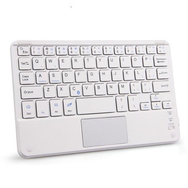 Portable Mini Wireless Bluetooth Keyboards with Touchpad Universal - mbrbproducts