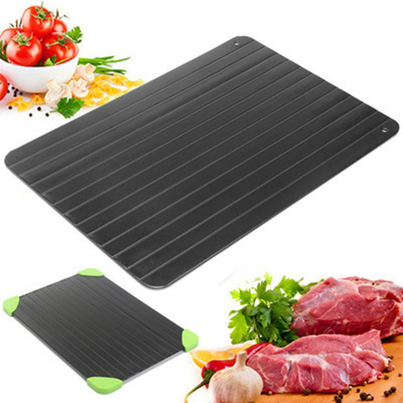 Quick Defrosting Plate Frozen Food Board Meat Fruit Defrost Kitchen Gadget Tool - mbrbproducts