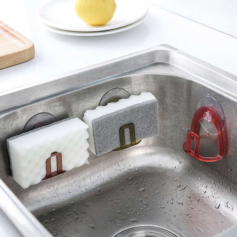High Quality ABS PVC Kitchen Sink Soap Rack Sponge Storage Holder - mbrbproducts