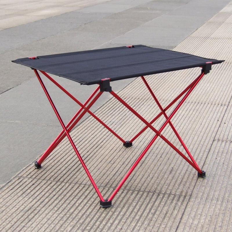 Hot Sale Portable Folding Table Desk  Outdoor Picnic 6061 Aluminium Alloy Ultra-light Folding Desk - mbrbproducts