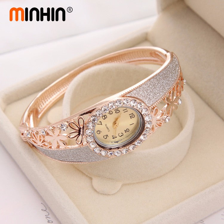Watch Dress Jewelry Bangle Watches Ladies Watch Clock Female Wristwatches Gold Plated Watches 2020 - mbrbproducts