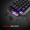 Red One-Handed Mechanical Gaming Keyboard  Backlit - mbrbproducts