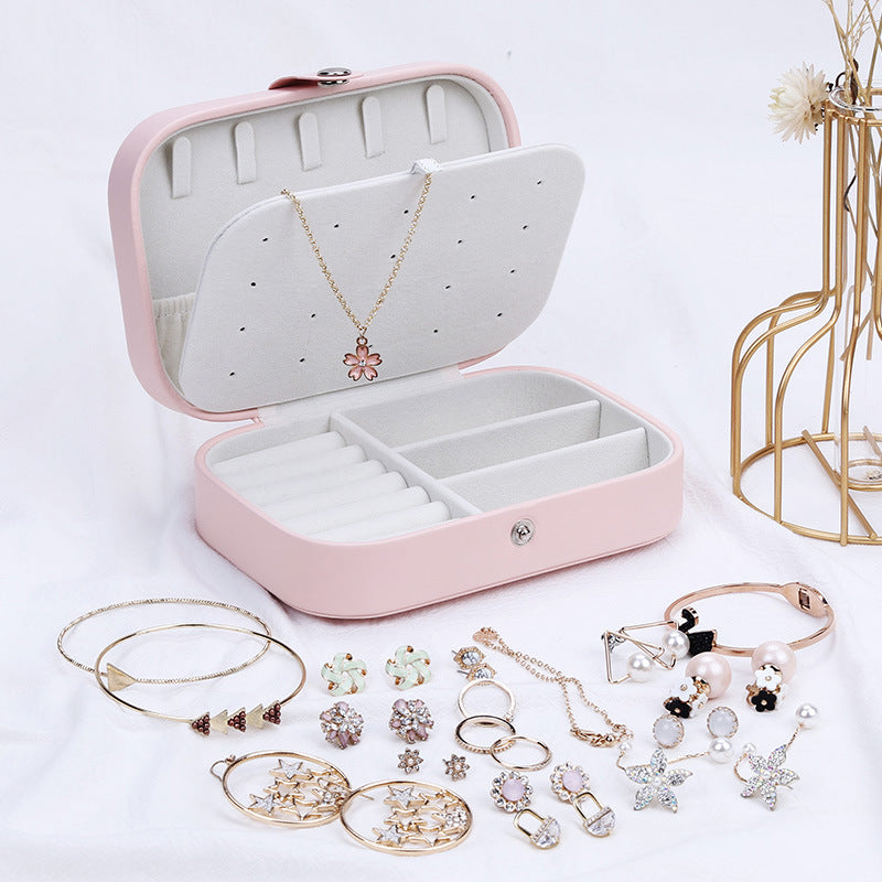 Korean Style Fresh And Simple Girl Earrings Plate Jewelry Box - mbrbproducts